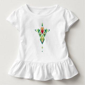 Vintage ethnische Stammes- aztekische Verzierung Kleinkind T-shirt