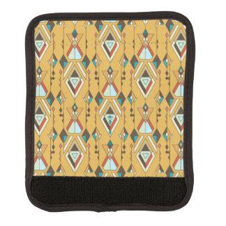 Vintage ethnische Stammes- aztekische Verzierung Koffergriffwickel