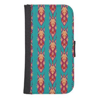 Vintage ethnische Stammes- aztekische Verzierung Phone Geldbeutel