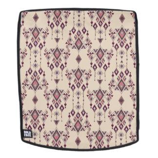 Vintage ethnische Stammes- aztekische Verzierung Rucksack