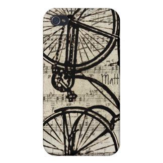 Vintage Fahrrad iPhone Abdeckung Etui Fürs iPhone 4