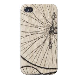 Vintage Fahrrad iPhone Abdeckung iPhone 4/4S Cover