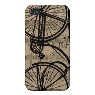 Vintage Fahrrad iPhone Abdeckung iPhone 4 Etuis