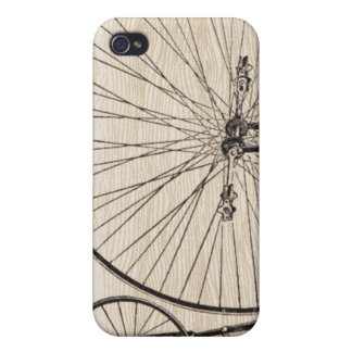 Vintage Fahrrad iPhone Abdeckung iPhone 4 Schutzhülle