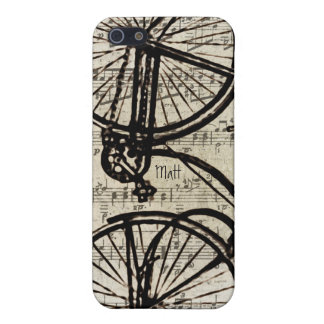 Vintage Fahrrad iPhone Abdeckung iPhone 5 Cover
