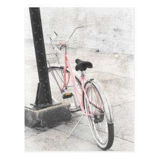 Vintage Fahrrad-Postkarte Postkarte