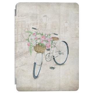 Vintage Fahrräder mit Rosenkorb iPad Air Cover