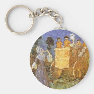 Vintage feenhafte Geschichten Aschenputtel und Schlüsselanhänger