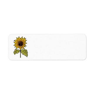 Vintage feenhafte Geschichten-Sonnenblume