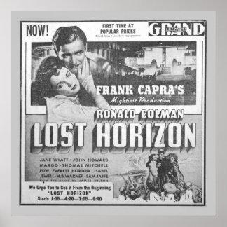Vintage Film-Anzeige für Ronald Colman Poster