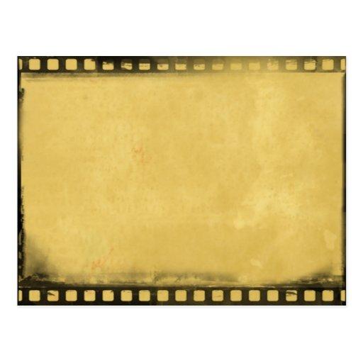 Vintage Film-Streifen-Postkarte