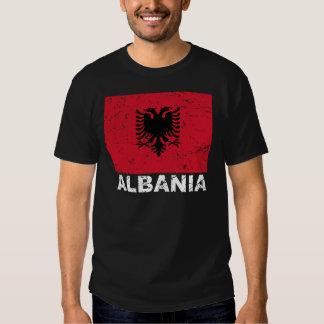 Vintage Flagge Albaniens Tshirts
