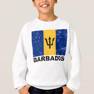 Vintage Flagge Barbados Sweatshirt