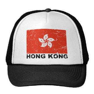 Vintage Flagge Hongs Kong Baseballmütze