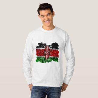 Vintage Flagge Kenias T-Shirt
