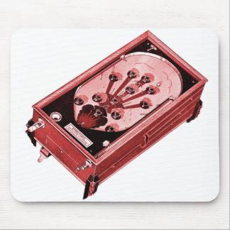 Vintage Flipperautomat-Maschine monostabil Mousepad