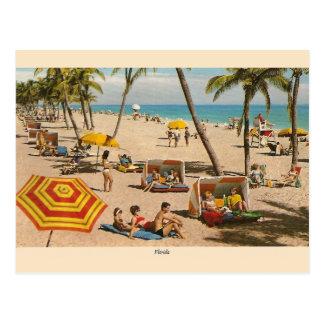 Vintage Florida-Strand-Reise-Postkarte Postkarten