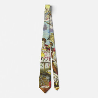 Vintage Forscher mit antiker Kugel-Karte, 1542 Individuelle Krawatten