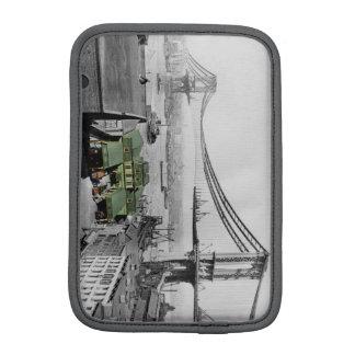 Vintage Foto-Hülse Manhattan-Brücken-New York Sleeve Für iPad Mini