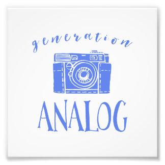 Vintage Fotografie-lustige Fotodruck