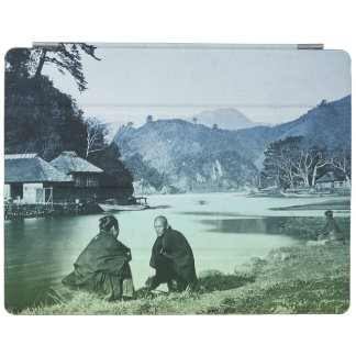 Vintage Fotografie:  Seltenes japanisches Dorf iPad Hülle