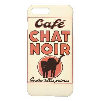 """Vintage Franzosen """"Café Chat noir """" iPhone 8 Plus/7 Plus Hülle"""