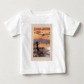 Vintage französische Luftfahrt Baby T-shirt