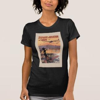 Vintage französische Luftfahrt Shirts