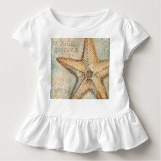 Vintage französische Starfish-Kunst Kleinkind T-shirt