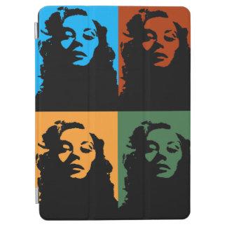 Vintage Frau in Farbtablette ipad Abdeckung iPad Air Hülle
