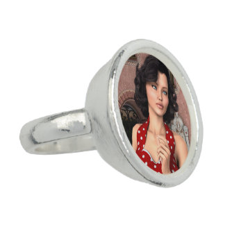 Vintage Frau Ring
