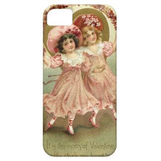 Vintage Freundschaft des Valentines Tages Etui Fürs iPhone 5