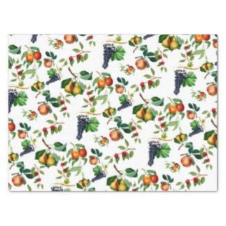 Vintage Frucht Seidenpapier