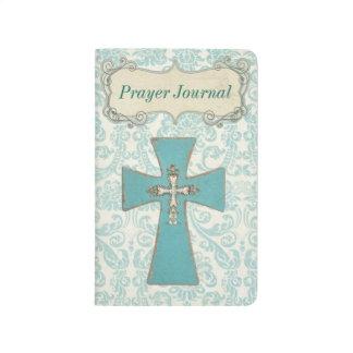 Vintage Gebets-Zeitschrift Taschennotizbuch