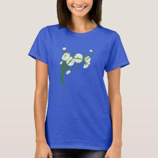 Vintage Gerber Gänseblümchen-Blumen von einem T-Shirt