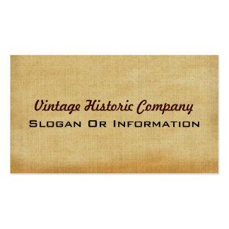 Vintage Geschäfts-Karten Visitenkarte