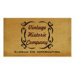 Vintage Geschäfts-Karten Visitenkarten Vorlagen