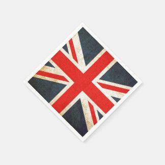 Vintage Gewerkschafts-Jack-britische Servietten