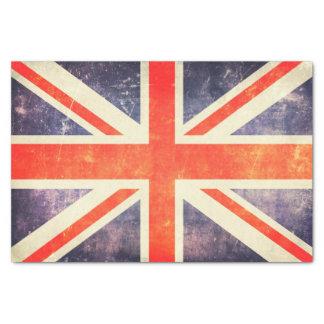 Vintage Gewerkschafts-Jackflagge Seidenpapier