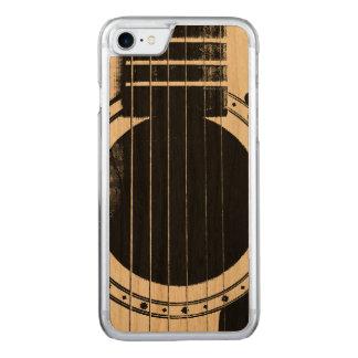 Vintage Gitarre Carved iPhone 8/7 Hülle