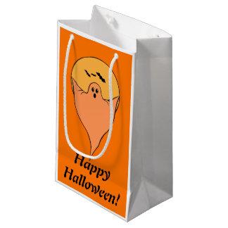 Vintage glückliche Halloween-Geist-Geschenk-Tasche Kleine Geschenktüte
