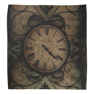 Vintage gotische antike Wand-Uhr Steampunk Halstuch