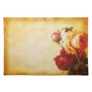 Vintage gotische Rose Tischset