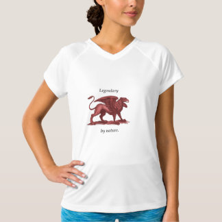 Vintage Greifillustration, legendär durch Natur T-Shirt