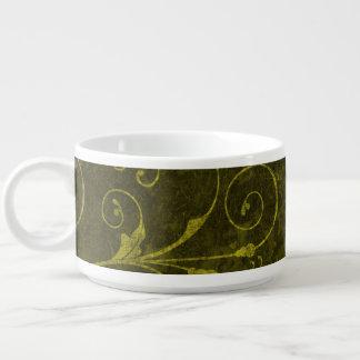 Vintage grüne Tapete Schüssel