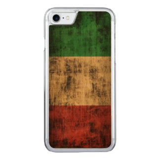Vintage Grunge-Flagge von Italien Carved iPhone 8/7 Hülle