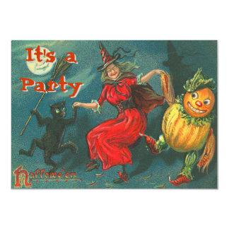 Vintage Halloween-Einladungen Karte