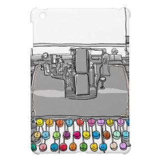 Vintage Hand der Schreibmaschine gezeichnet iPad Mini Hülle