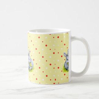 Vintage Häschen-Tasse Kaffeetasse