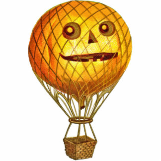 Vintage Heißluft-Ballon-Acryl-Verzierung Fotofiguren